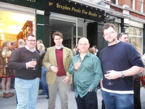 Angus Donald, Henry Venmore-Rowland, Anthony Riches, Conn Iggulden